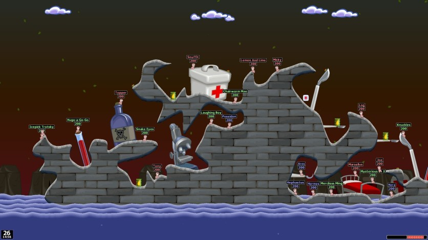 Screenshot 2 - Worms World Party Remastered