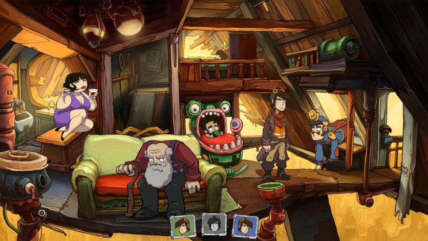 Screenshot 8 - Deponia: The Complete Journey