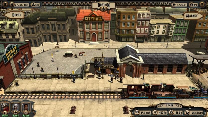 Screenshot 2 - Bounty Train