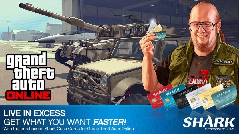 Screenshot 1 - GTA Online: Red Shark Cash Card