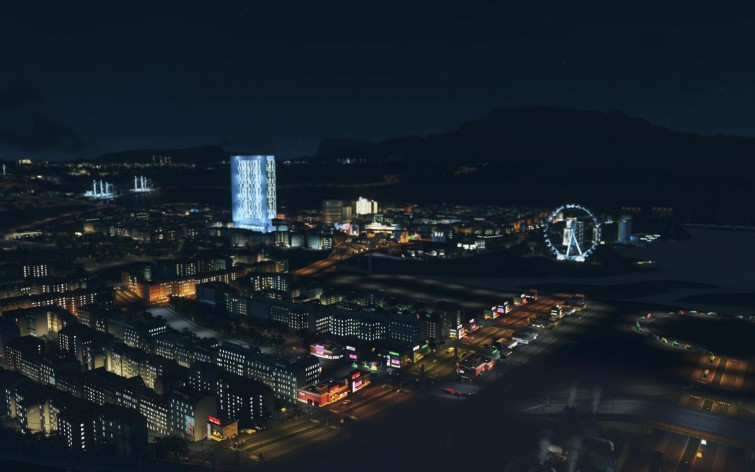 Screenshot 4 - Cities: Skylines - After Dark