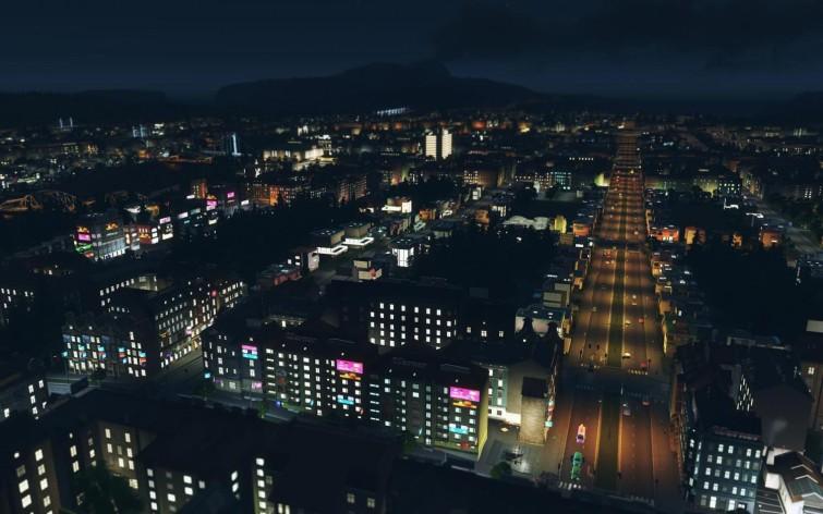 Screenshot 2 - Cities: Skylines - After Dark
