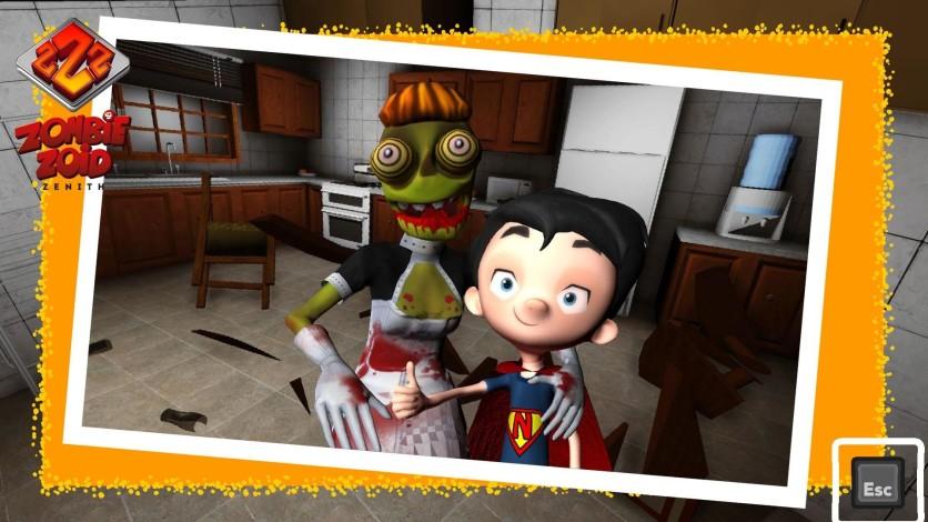 Screenshot 4 - Zombie Zoid Zenith