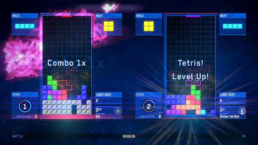 Screenshot 4 - Tetris Ultimate