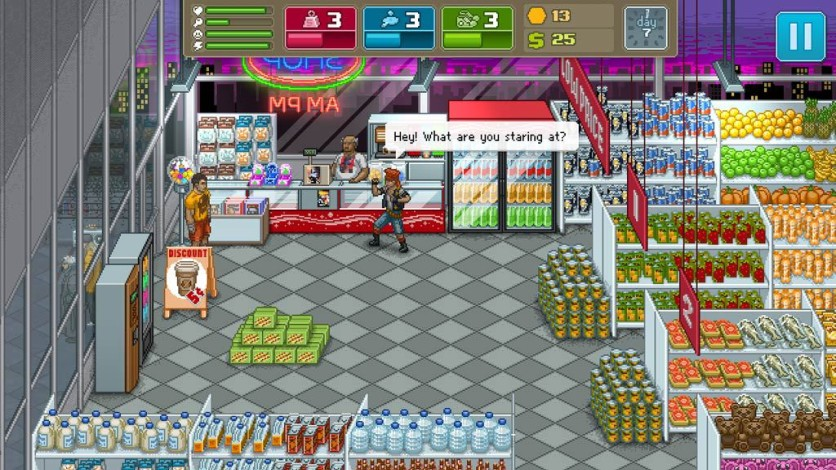 Screenshot 1 - Punch Club