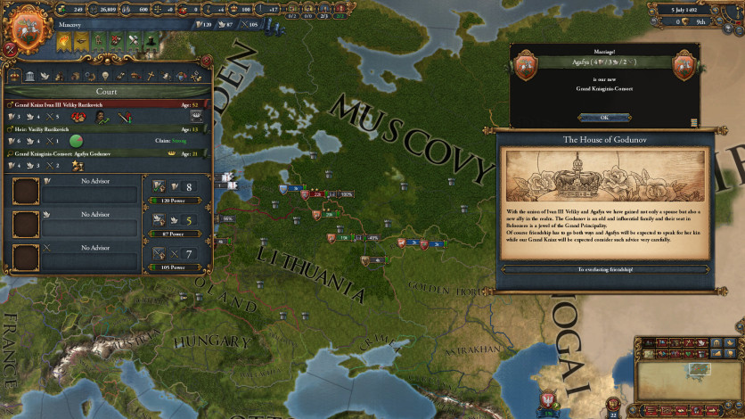 Screenshot 5 - Europa Universalis IV: Song of Regency - Music Pack