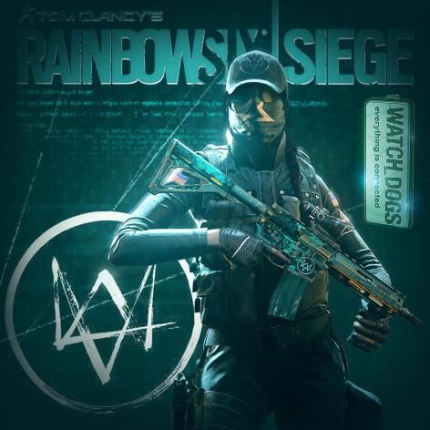 Screenshot 1 - Tom Clancy's Rainbow Six - SIEGE: Ash Watch_Dogs Set