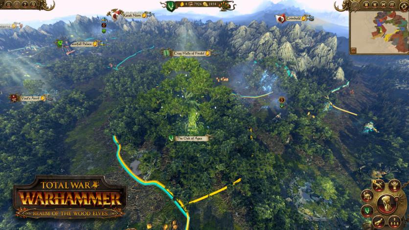 Screenshot 6 - Total War: WARHAMMER - Realm of The Wood Elves