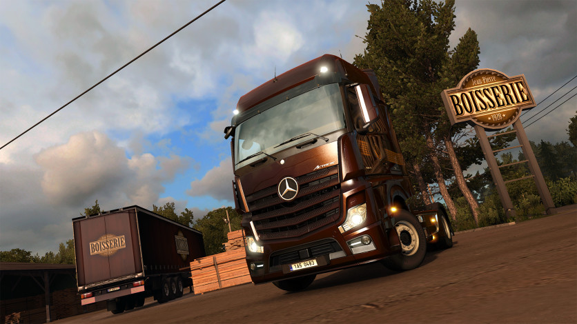 Screenshot 7 - Euro Truck Simulator 2 - Vive la France