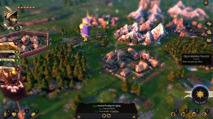 Screenshot 6 - Armello - Seasons Board Skins Pack
