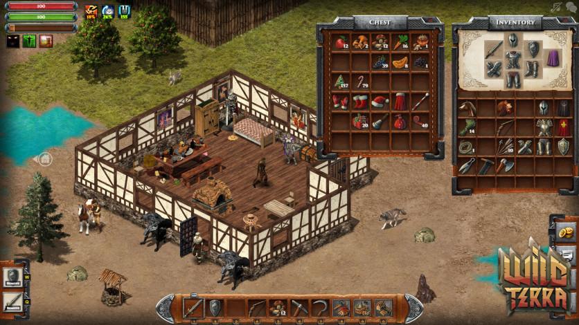Screenshot 1 - Wild Terra Online - Gold 500