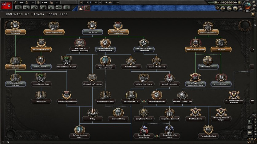 Screenshot 6 - Hearts of Iron IV: Together for Victory