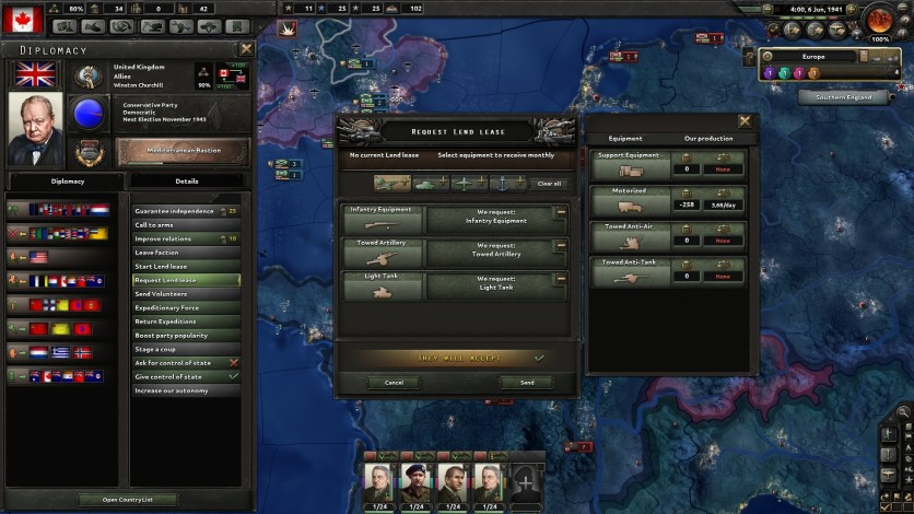 Screenshot 7 - Hearts of Iron IV: Together for Victory