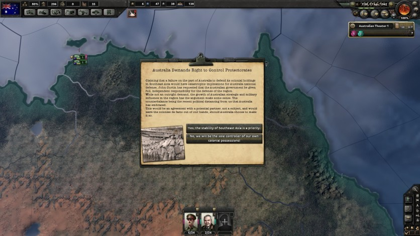 Screenshot 4 - Hearts of Iron IV: Together for Victory