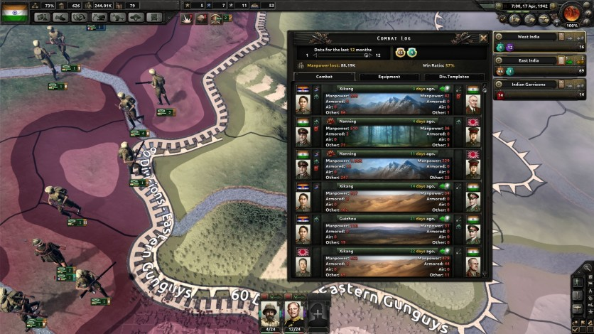Screenshot 1 - Hearts of Iron IV: Together for Victory