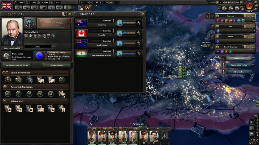 Screenshot 10 - Hearts of Iron IV: Together for Victory