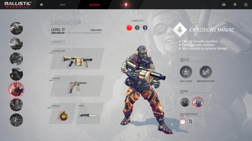 Screenshot 2 - Ballistic Overkill: Grenadier Zombie