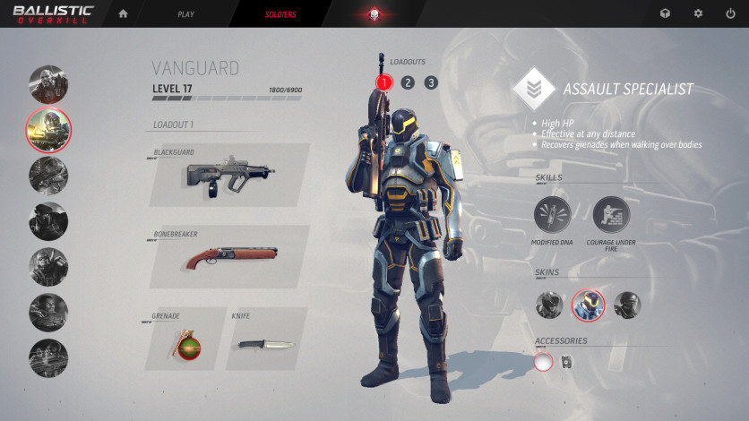 Screenshot 2 - Ballistic Overkill: Vanguard Elite