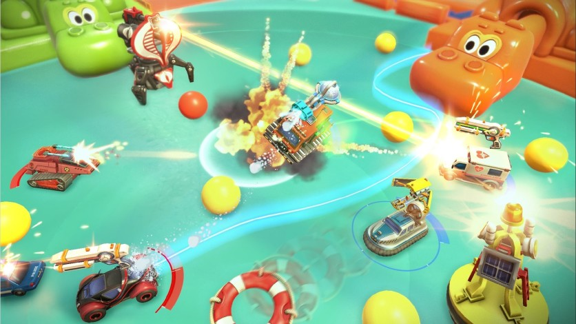 Screenshot 3 - Micro Machines World Series