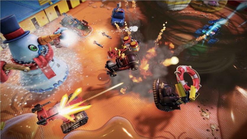 Screenshot 2 - Micro Machines World Series